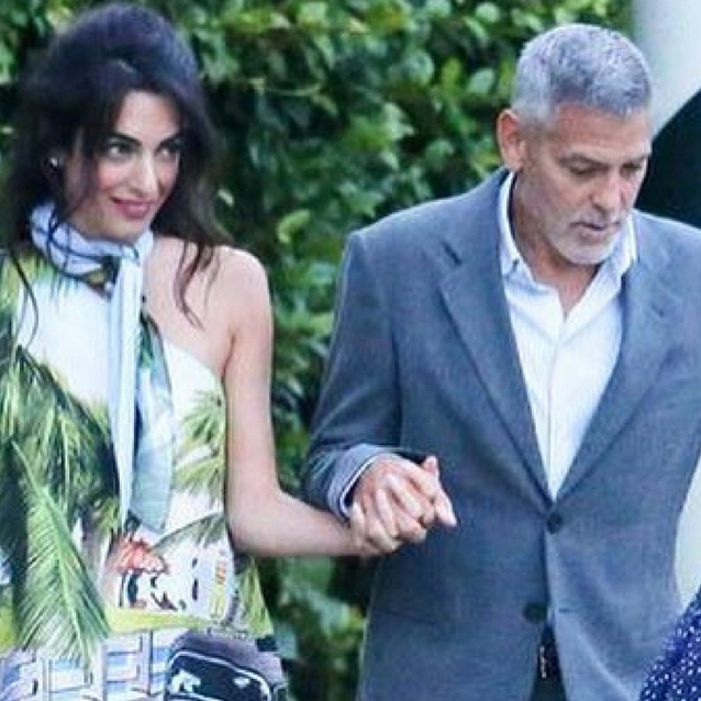 Amal Clooney Just Wore The Printed Top Of Dreams On Holiday In Italy