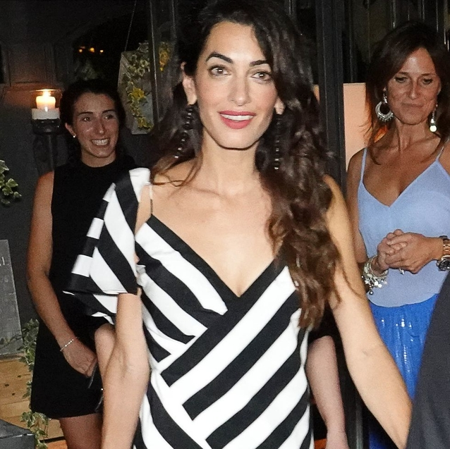 Amal Clooney Wears Another Stylish Outfit In Italy