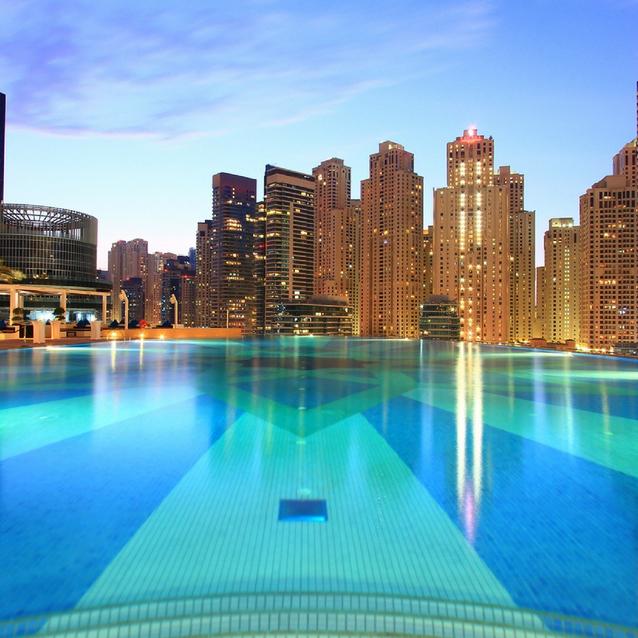 Dubai Marina Just Got A Chic New Pool Party