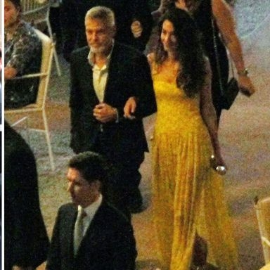 Amal Clooney Wore Royal-Wedding Yellow Again In Italy