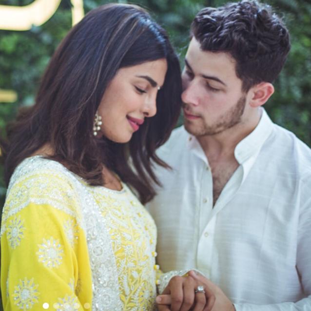 Priyanka Chopra And Nick Jonas' Engagement Ceremony Photos Are Intimate And Gorgeous