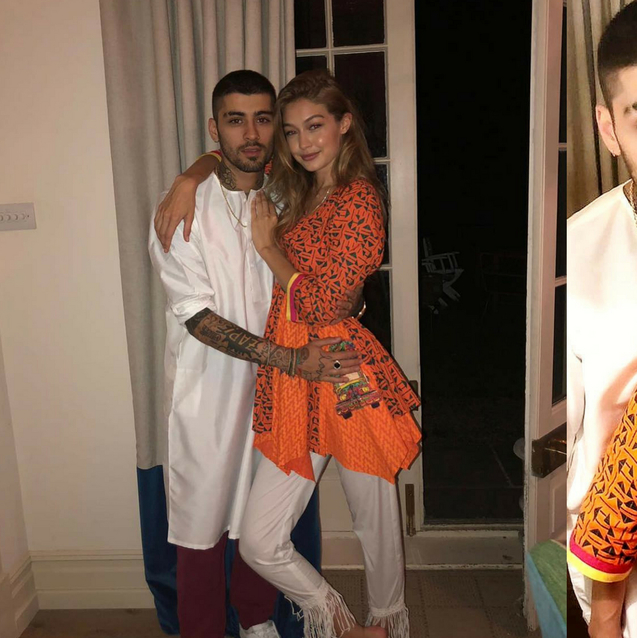 Here's How Gigi Hadid And Zayn Malik Celebrated Eid