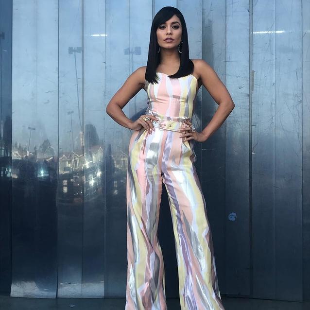 Vanessa Hudgens Channels '70s Vibes In Madiyah Al Sharqi