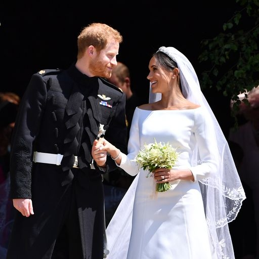 The Duke And Duchess Of Sussex's Wedding Outfits Are Going On Display