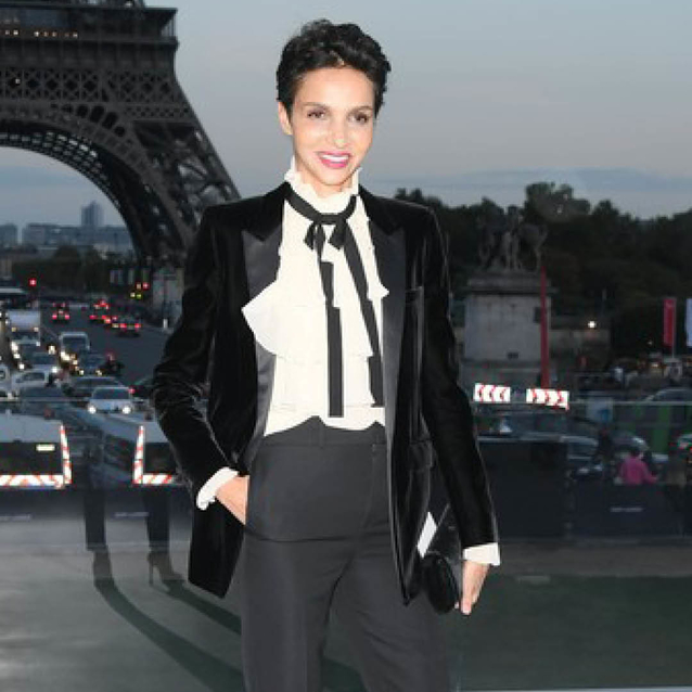 Learn To Master Effortless Parisian-Chic From Farida Khelfa