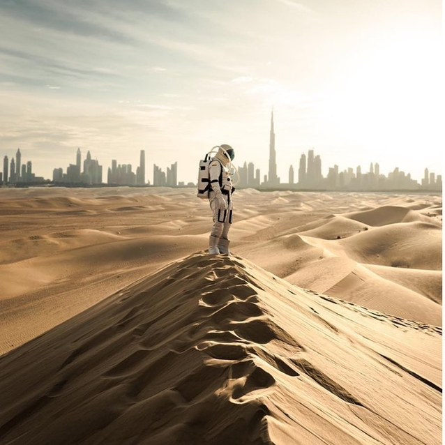 National Geographic Will Document The UAE's Space Mission