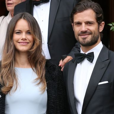 Princess Sofia Channels Cinderella In A Baby Blue Fairytale Dress At Prince Konstantin Of Bavaria's Wedding