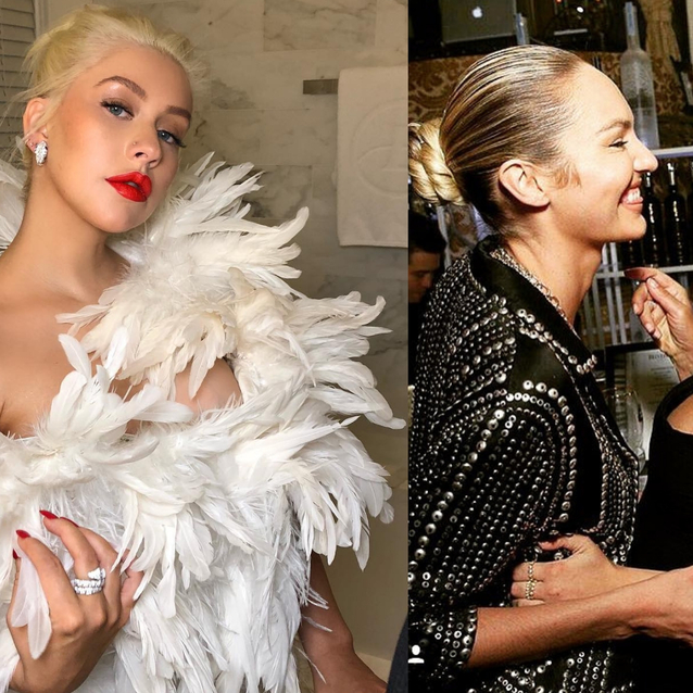 9 Of The Best Celebrity Instagrams From The Bazaar Icons Party
