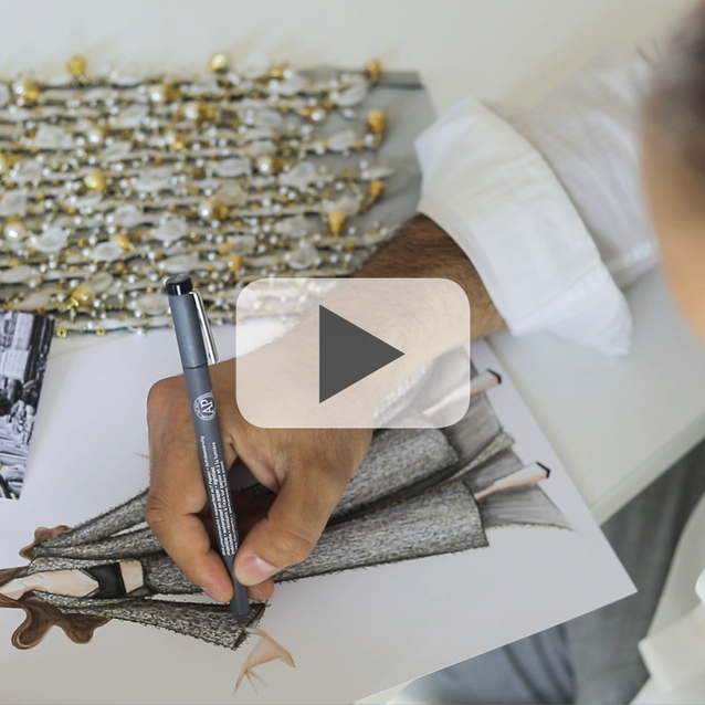 Exclusive: The Founders Of Azzi & Osta Take Bazaar Behind The Scenes In Their Atelier