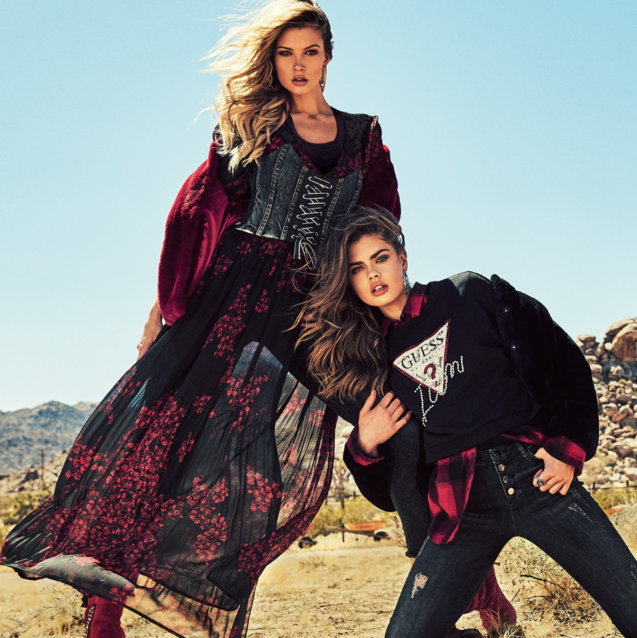The GUESS Jeans AW18 Campaign Makes A Convincing Argument For Layering Textures