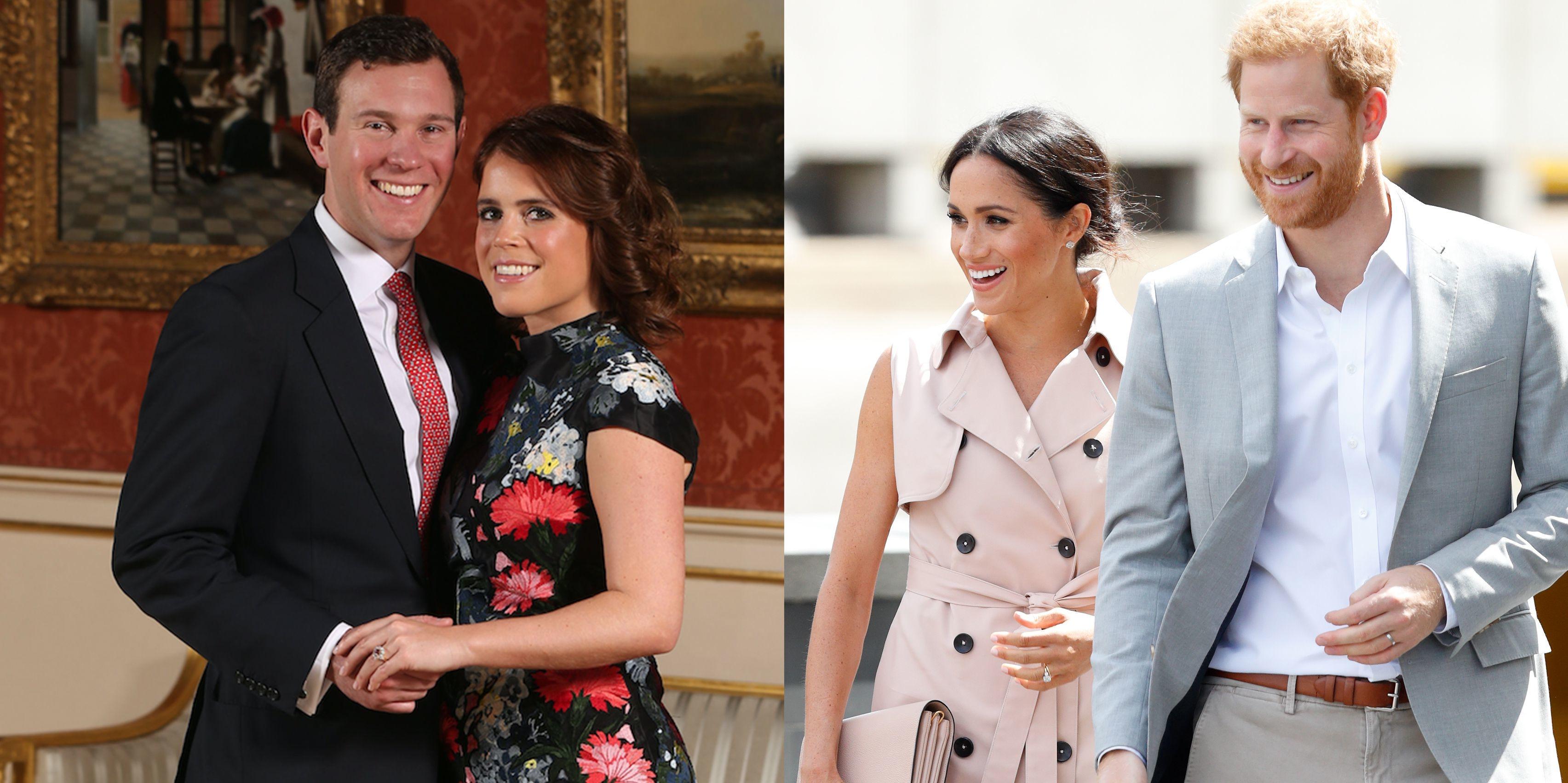 Princess Eugenie's Wedding Invites Compared To Prince Harry & Meghan Markle's