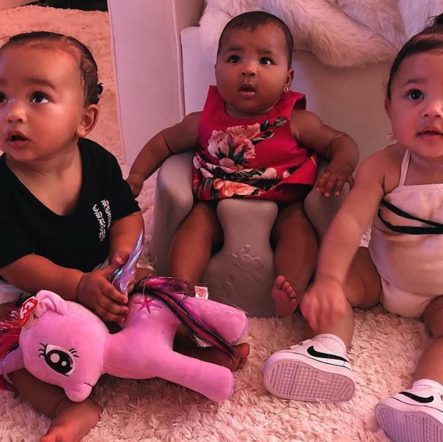 Chicago West, Stormi Webster, And True Thompson Could Basically Be Sisters