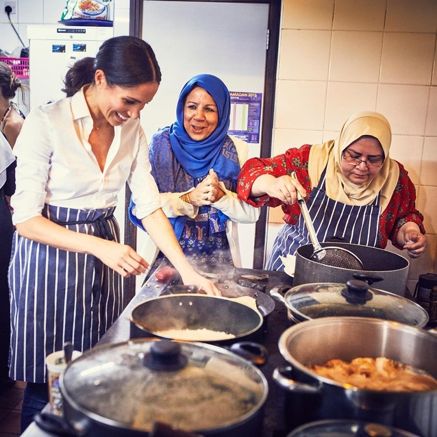 Meghan Markle Is Releasing A Cookbook In Collaboration With The Women Of A Muslim Cultural Heritage Centre In London