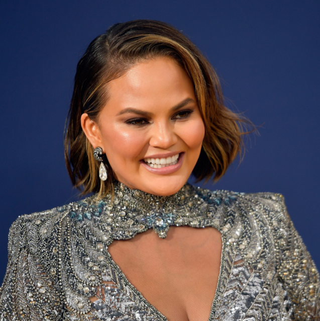Chrissy Teigen Wore Only Middle Eastern Brands For All The Emmy's Festivities