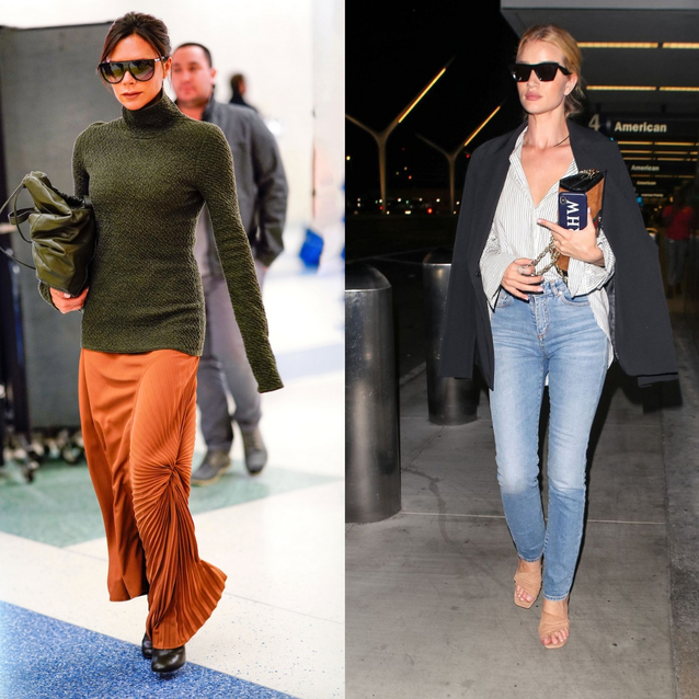 28 Celebrities With Amazing Airport Style