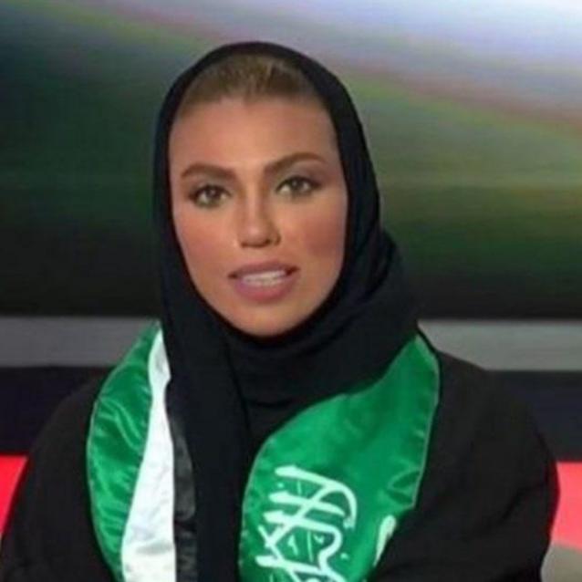 Saudi Arabia's First Female News Anchor Goes Live