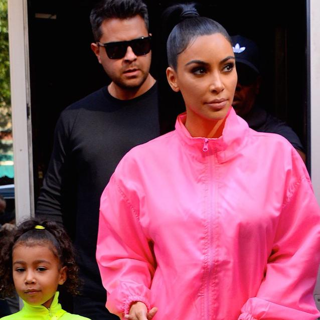 North West Was Kim Kardashian's Mini-Me Backstage At Saturday Night Live