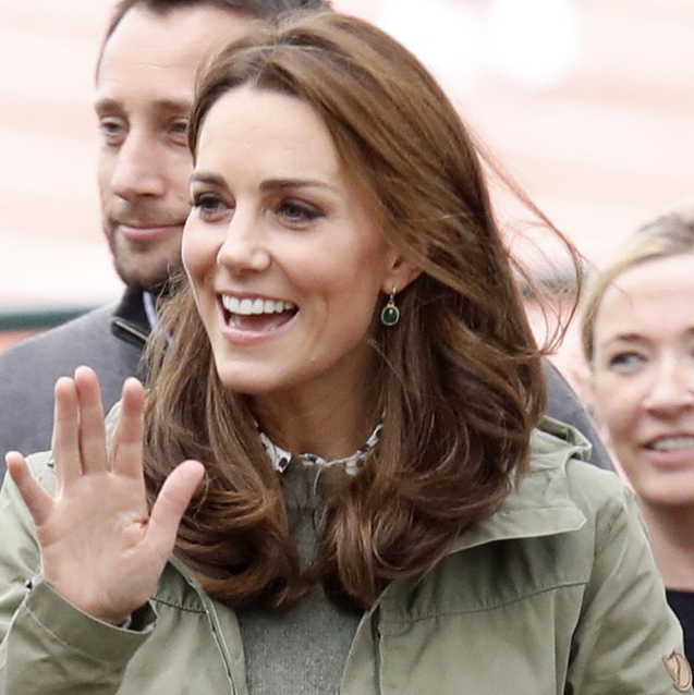 Kate Middleton Officially Returns From Maternity Leave In The Perfect Casual Look