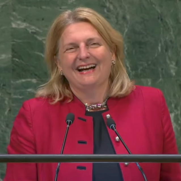 This Is Why Austria's Foreign Minister Gave A Speech In Arabic At The UN General Assembly