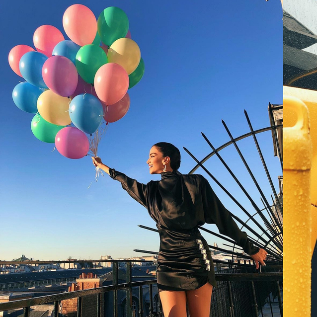 The Best Celebrity Instagrams From Fashion Month
