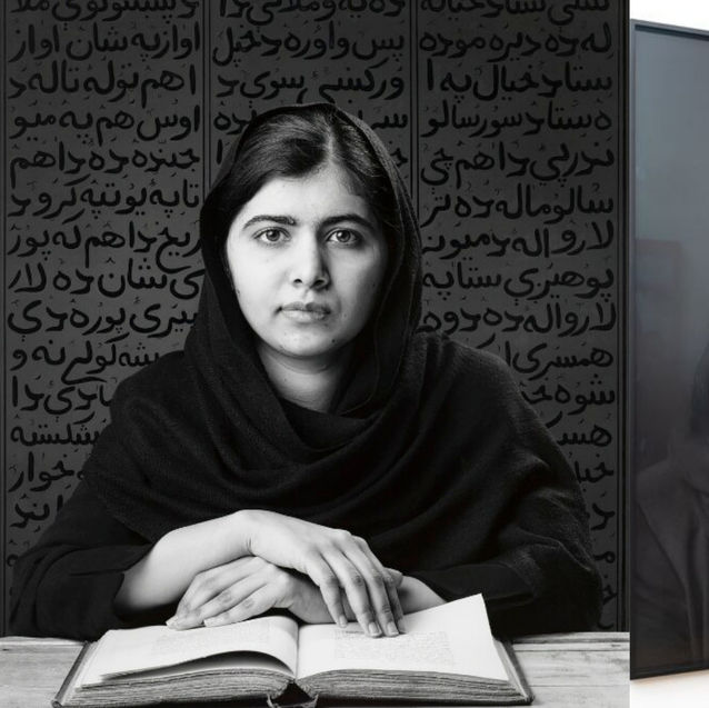 The National Portrait Gallery Unveils A New Portrait Of Malala Yousafzai