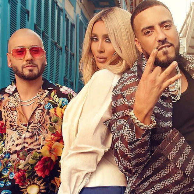 "Lebanese Stars Maya Diab and Massari Collaborate With French Montana To Remake The Hit ""Nour El Ein"""