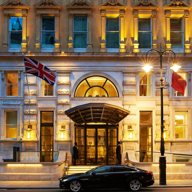 Classic Indulgence with a Twist: Corinthia London