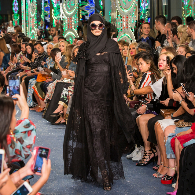 Pictures: Dolce & Gabbana Host An Exclusive Fashion Show In Dubai