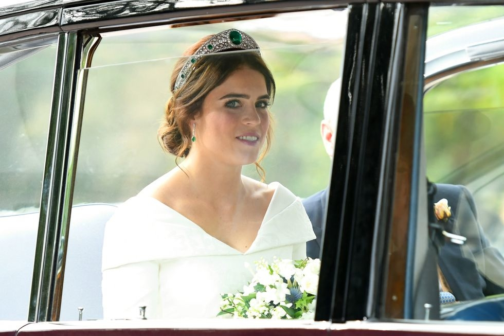 Princess Eugenie Wore This Tiara On Her Wedding Day