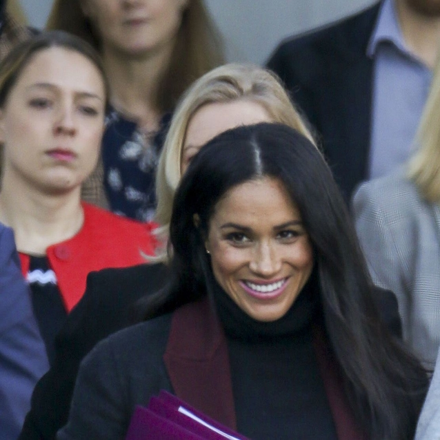 Meghan Markle Looks Impossibly Chic After 22 Hours On A Plane