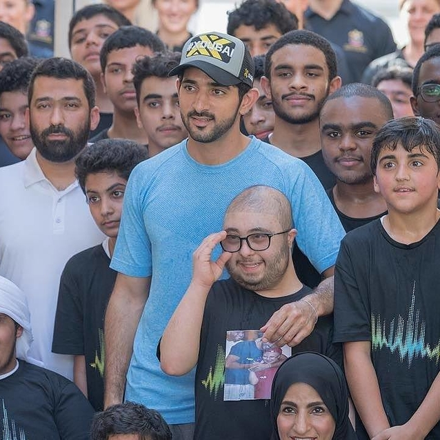 Sheikh Hamdan Takes To Instagram To Announce The Dubai Fitness Challenge
