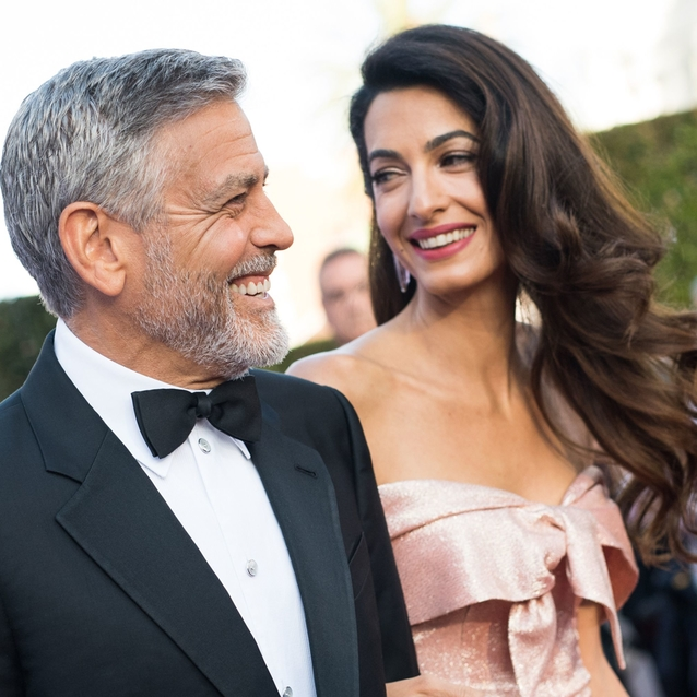 """George Clooney Introduced Himself As """"Amal Clooney's Husband"""" At An Event This Weekend"""