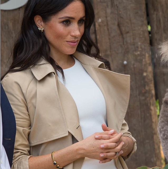 Meghan Markle Just Wore Jewellery That Belonged To Princess Diana