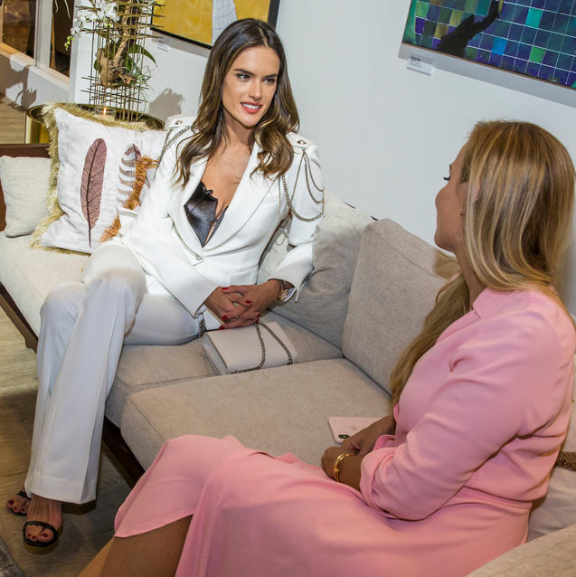 Watch: Alessandra Ambrosio Takes A BTS Tour Of The House Of Bazaar