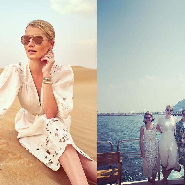 Inside Lady Kitty Spencer's Dubai Trip