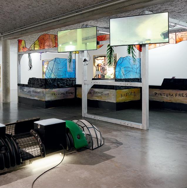 French-Algerian Artist Neil Beloufa Explains The Catch-22 Of Power