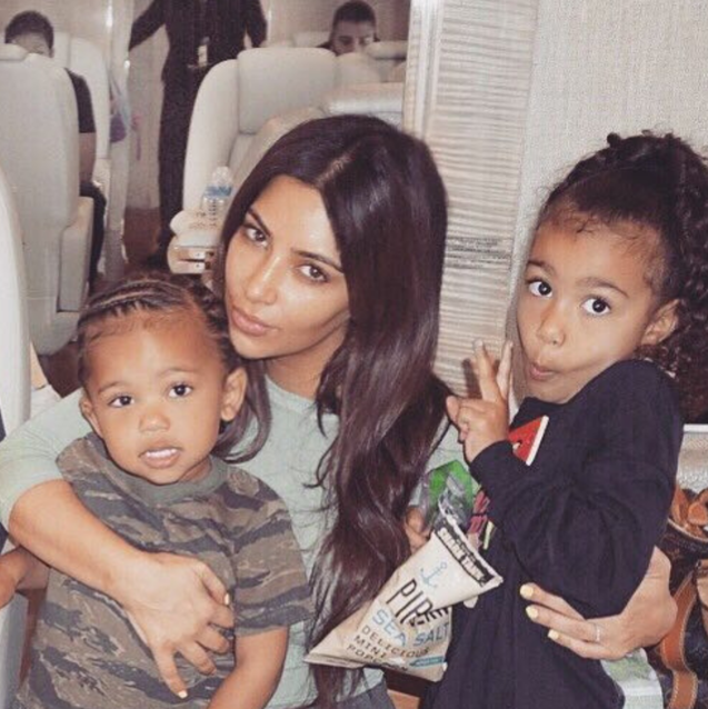 North West Looks So Much Like Kim Kardashian In Her Labor Day Weekend Instagram Post