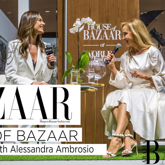 Watch: Bazaar Readers Ask Alessandra Ambrosio Their Must-Know Questions