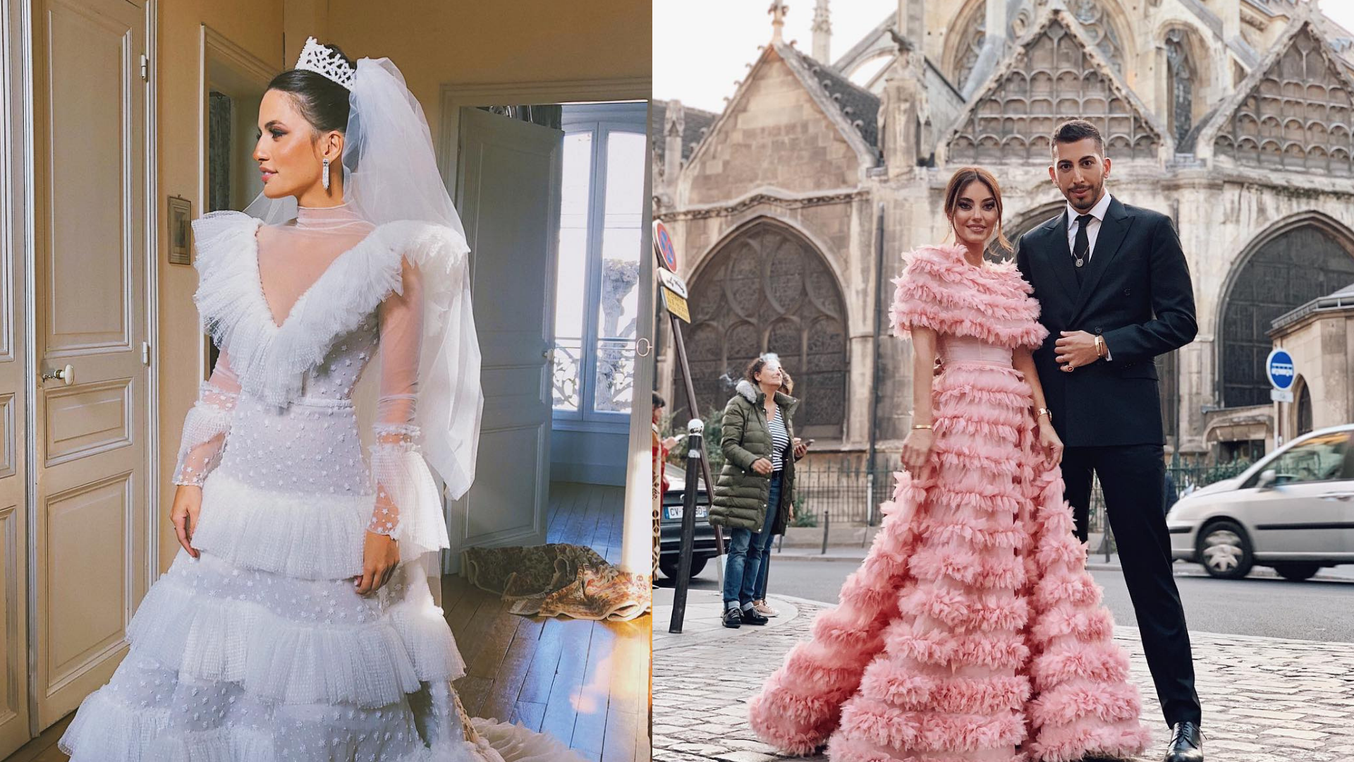 The Region's Fashion Set Flew Out For This Lebanese Shoe Designer's Parisian Wedding