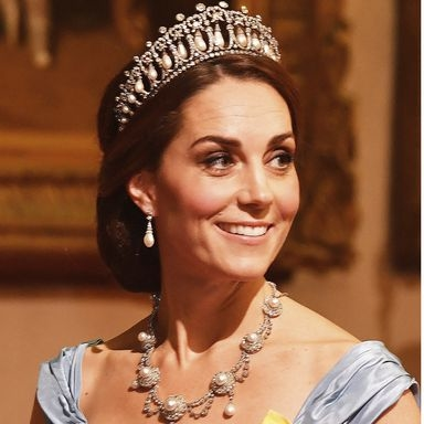 Kate Middleton Wore Princess Diana's Favourite Tiara At The State Banquet