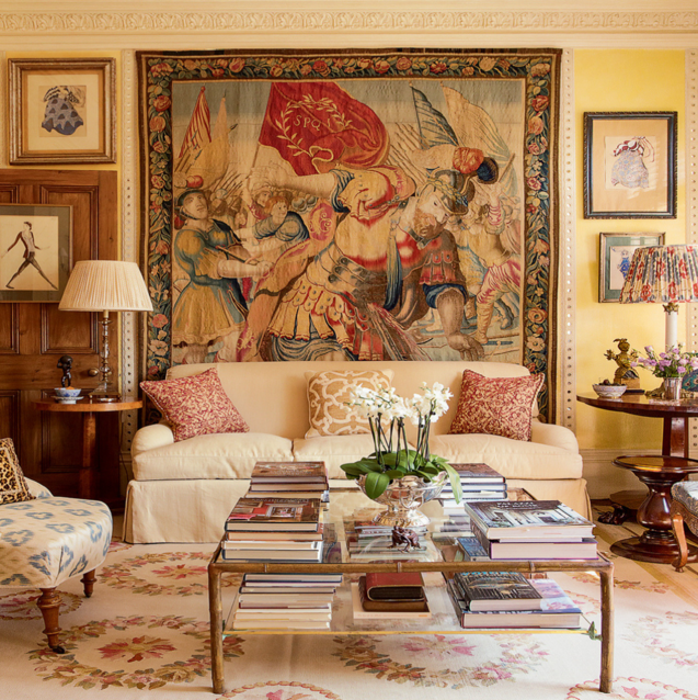 At Home With Alidad: The Iranian-British Interior Design Legend