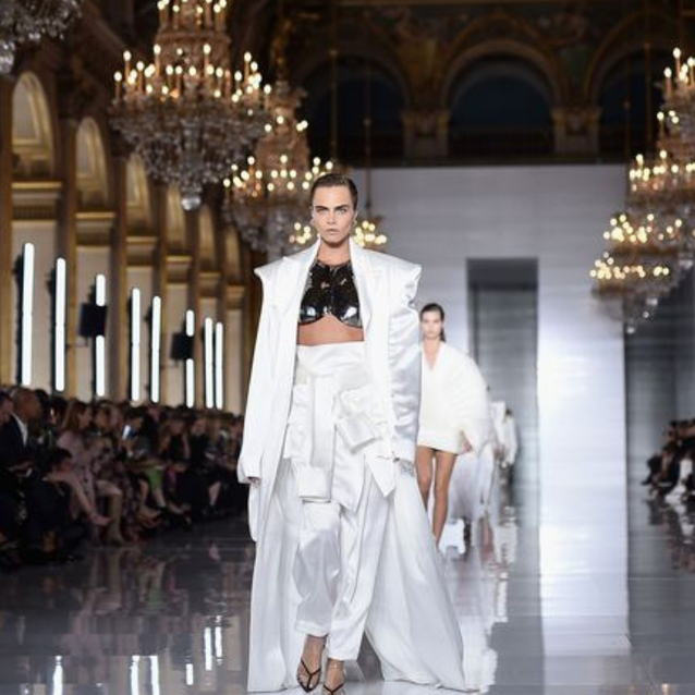 Balmain To Return To The Paris Couture Schedule For The First Time In 16 Years