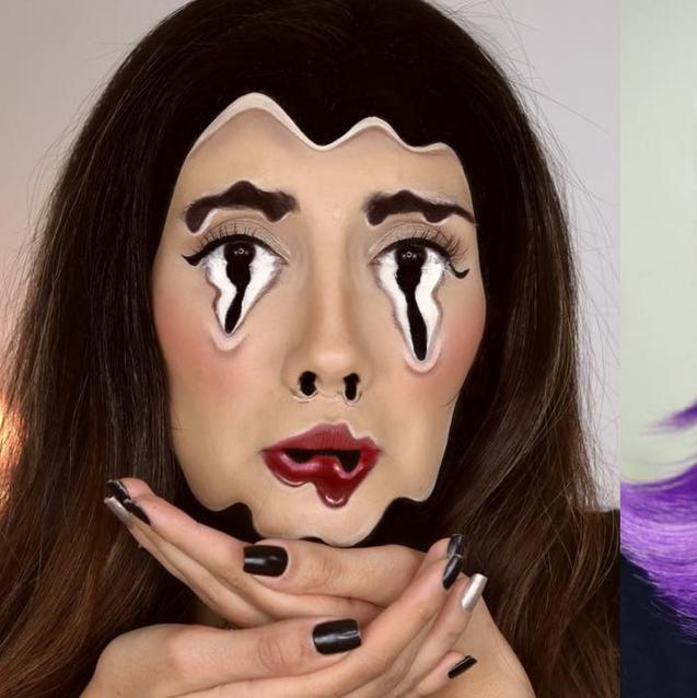 Sadaf Had The Most Epic Halloween Make-Up