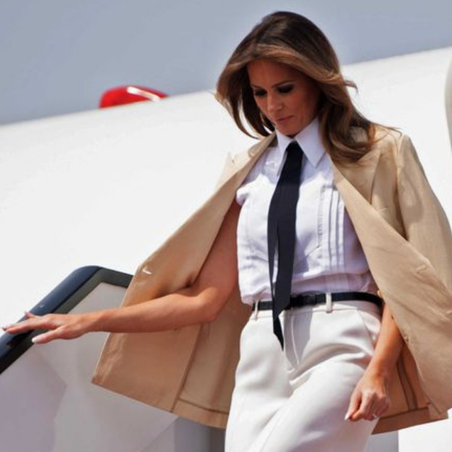 Melania Trump Somehow Managed To Spend Dhs340,000 In One Day In Cairo