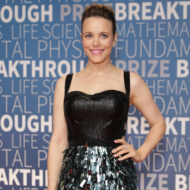 Rachel McAdams Just Got Us So Excited For The Holidays With This Sparkly Lebanese-Designed Dress