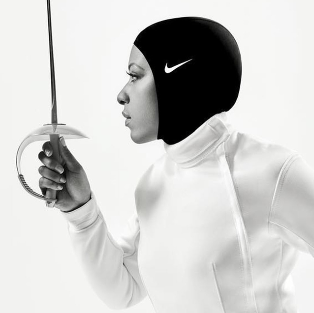 ICYMI: Nike's New Podcast Episode With Ibtihaj Muhammad Gets Real About Sexism In Sports