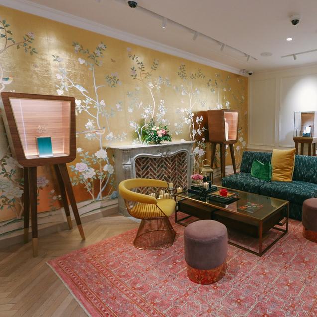 The Interiors Inside Jewellery Designer Salama Khalfan's First Dubai Boutique Are Unreal