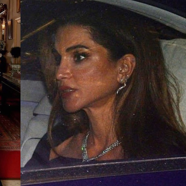 Queen Rania Attended Prince Charles' 70th Birthday Celebrations