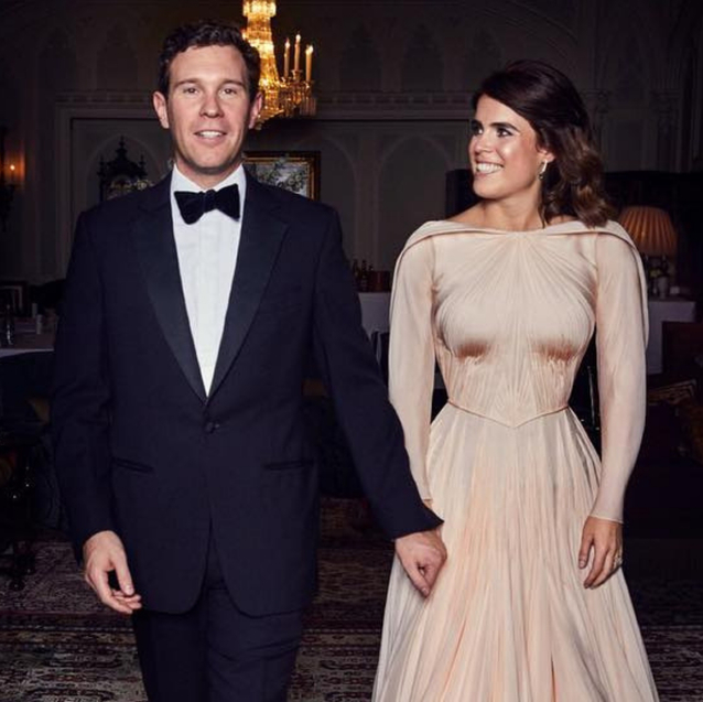 Zac Posen Shares A Closer Look At Princess Eugenie's Wedding Reception Dress