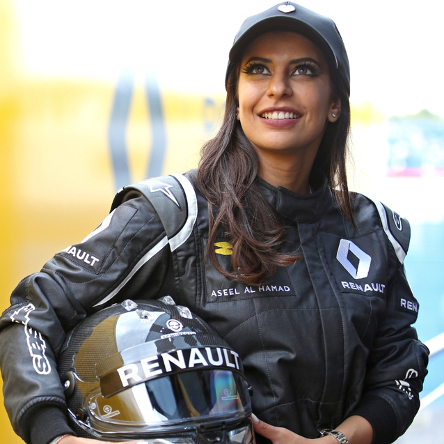 The First Female Saudi Race Car Driver Talks Making History Ahead Of F1